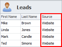 sales crm lead generation