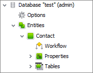 what is database entity